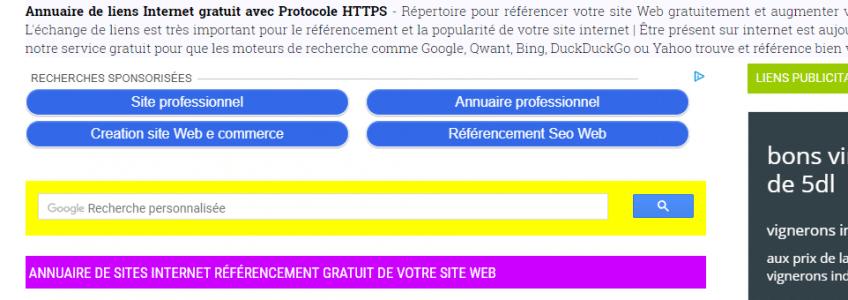 répertoire généraliste kimiweb