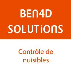 Logo de BEN4D Solutions, entreprise de dératisation et anti-nuisibles dans les Alpes.